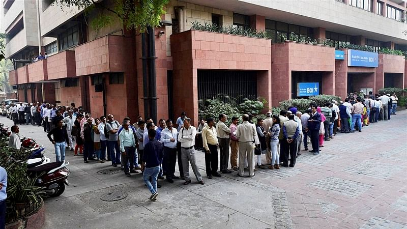 Demonetisation effect: Laughing all the way to the bank and back