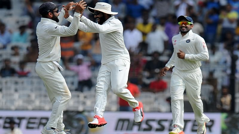 INDvsENG: England 477 all out in first innings vs India in the Fifth Test