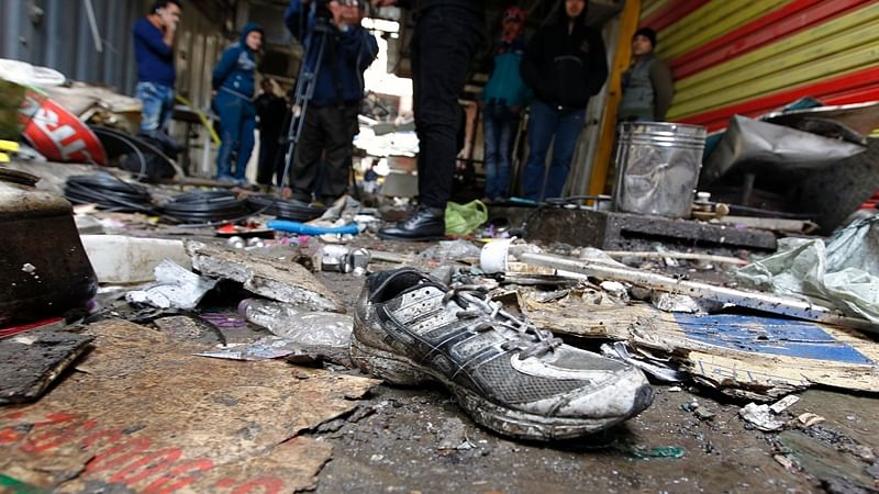 28 lost lives in twin suicide bombings in Baghdad