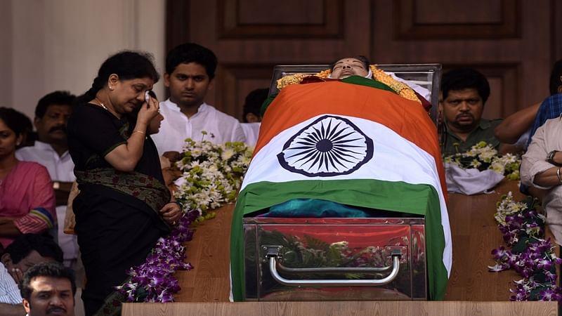 Jayalalithaa's last journey begins