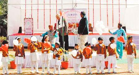 Bhopal: Annual Sports Day at Maharshi Vidya Mandir