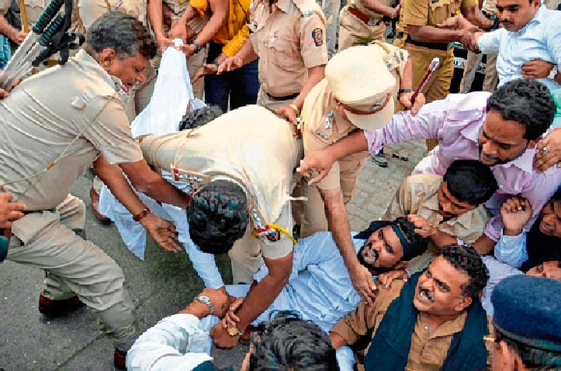 Placed under house arrest: Congress city chief Sanjay Nirupam