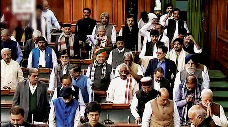 Cong to blame for Winter Session washout: Govt