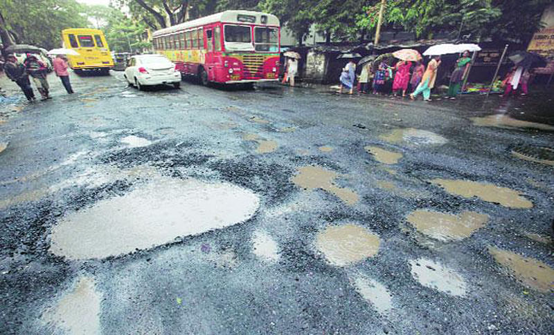 BMC to repair 455 pothole-prone city roads