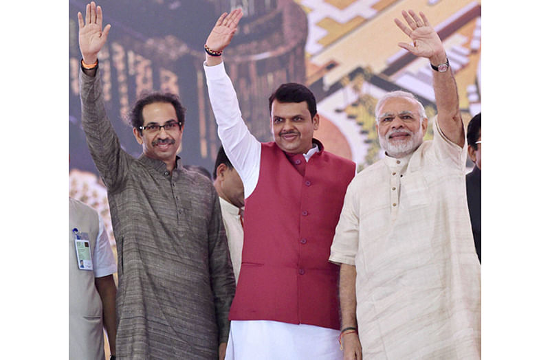 Shiv Sena asks PM Modi: Farmers, families ending lives – Is this 'Achhe Din'?