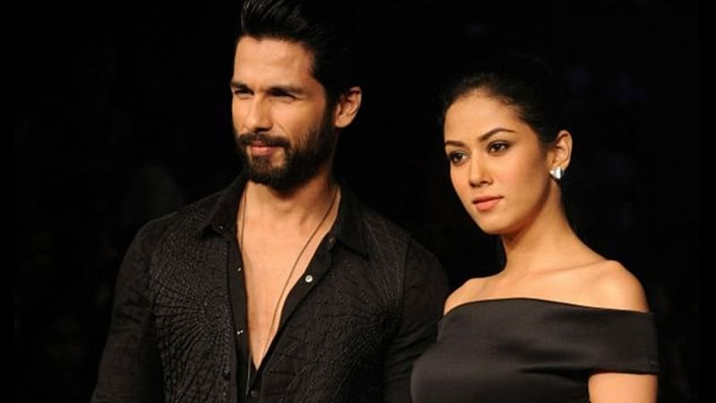 Shahid Kapoor on KJo's 'Koffee' couch with wife Mira Rajput