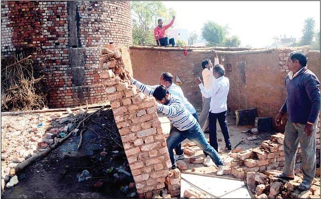 Ujjain: Slums removed from Kavelu Karkhana