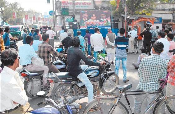 Ujjain: Traffic jam, chaos 'Hitgrahi Sammelan' wreaks havoc on daily passengers