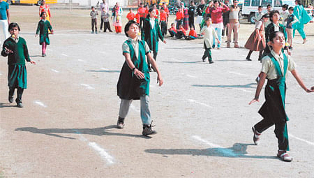 Ujjain: Differently abled children display impressive feat at sports meet