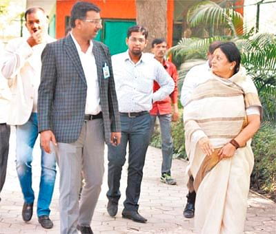 Indore: Jamuna leaps to freedom, Zoo officials run for cover