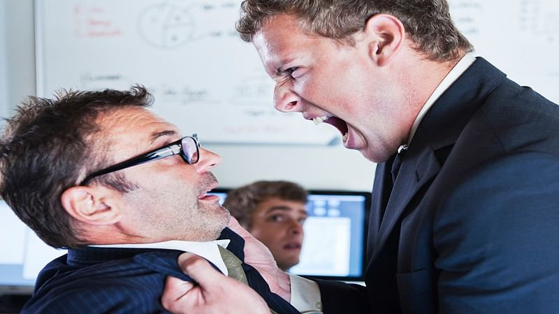 Why you should not 'act' in front of co-workers