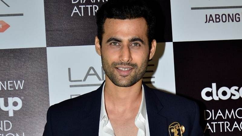 Freddy Daruwala just getting charged up for a ride of his life