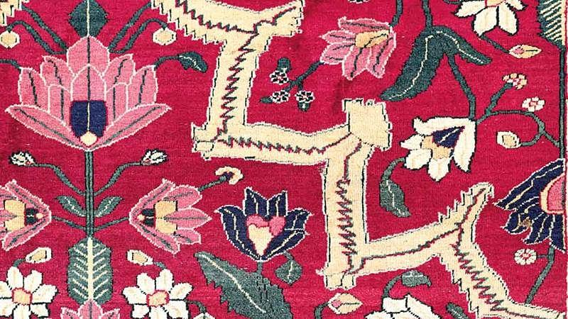 17th-Century Indian carpet discovered in Dutch shipwreck