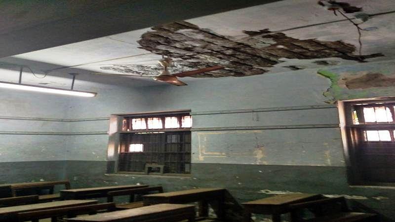 Mumbai: Sewri municipal school unsafe for students