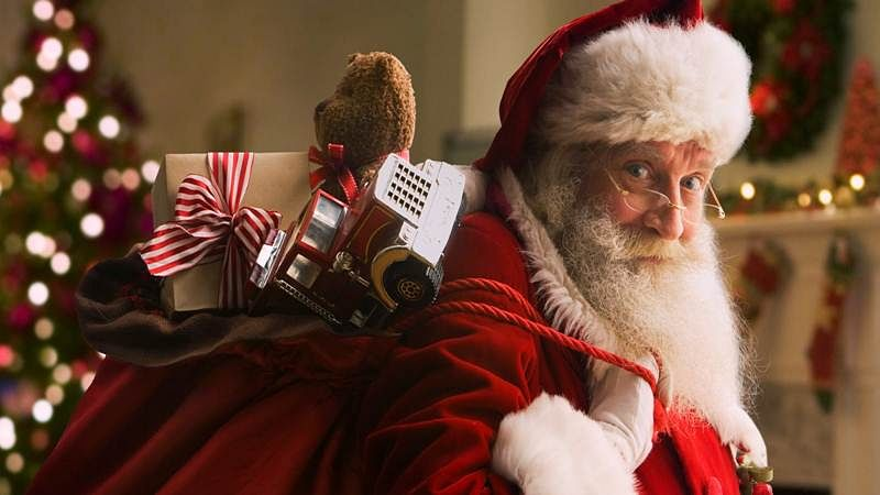 How Santa delivers presents on Christmas eve explained!