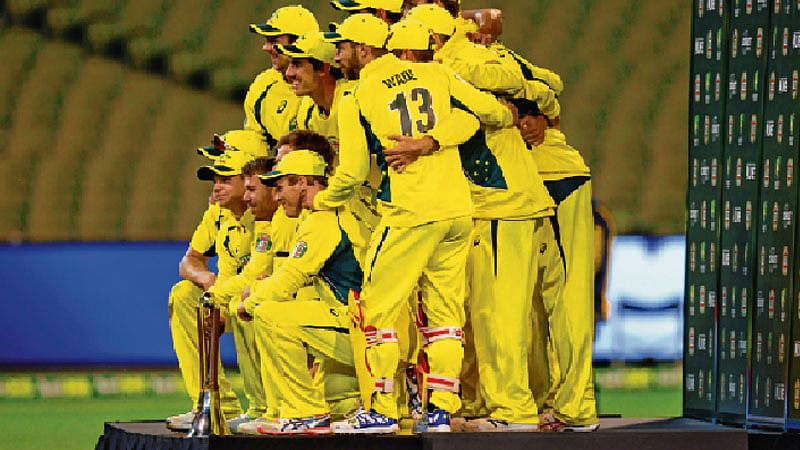 Aussies whitewash Kiwis : Beat New Zealand by 117 runs in third and final ODI