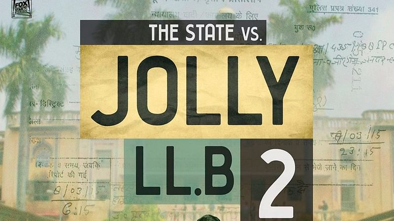 Akshay Kumar takes a scooter ride for first poster of Jolly LLB 2