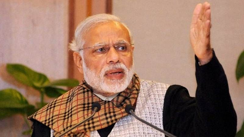 Beginning of end of corrupt people: Modi