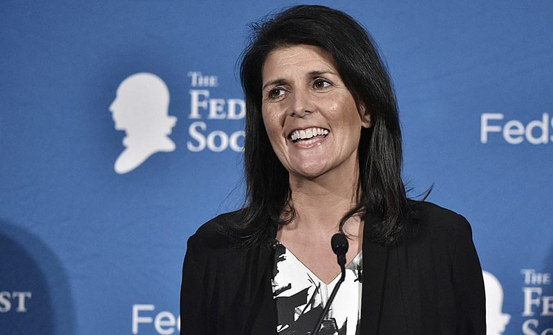 US should not give aid to Pakistan, says Nikki Haley
