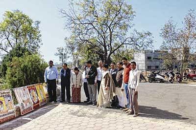 Ujjain: Mahatma Gandhi remembered on 69th death anniversary