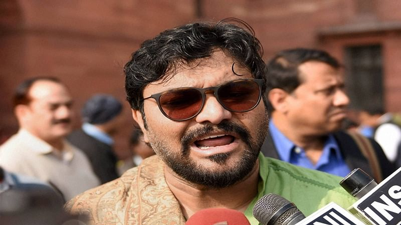 Not written by me: After tweet hailing extrajudicial Hyderabad encounter, Babul Supriyo backtracks