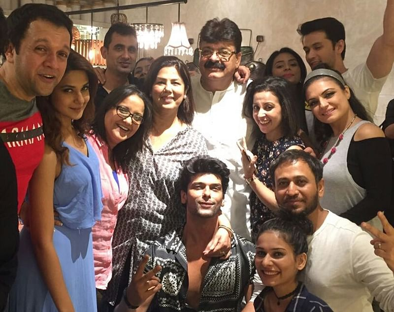 Beyhadh cast had a ball of a time at Kushal Tandon's house party