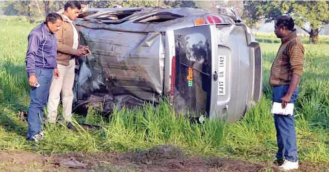 Bhopal: Corporators on way to city meet with accident, 2 dead, 6 hurt