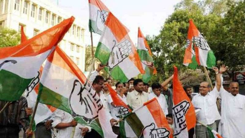 Congress protest note ban outside RBI office, demand governor quit