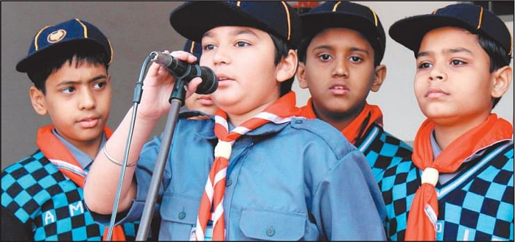 Bhopal: Cubs council sworn in at Campion School