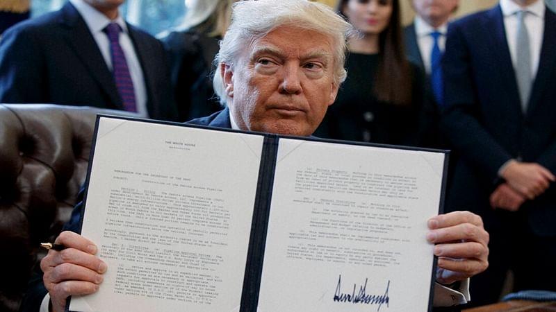 Texas state backs Donald Trump's travel ban