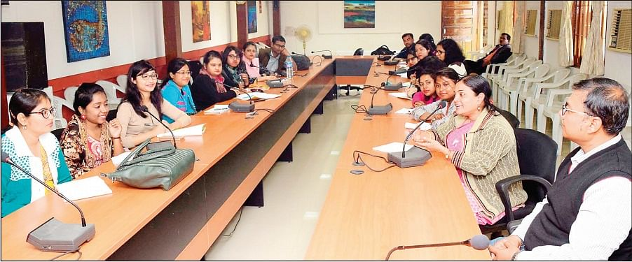 Bhopal: Kolkata Museology students at IGRMS