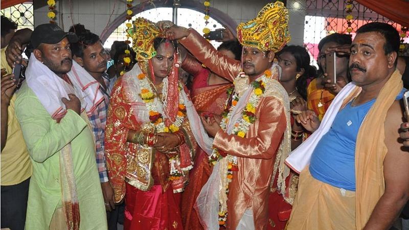 Breaking Stereotypes: Transgender woman gets married in Bhubneswar