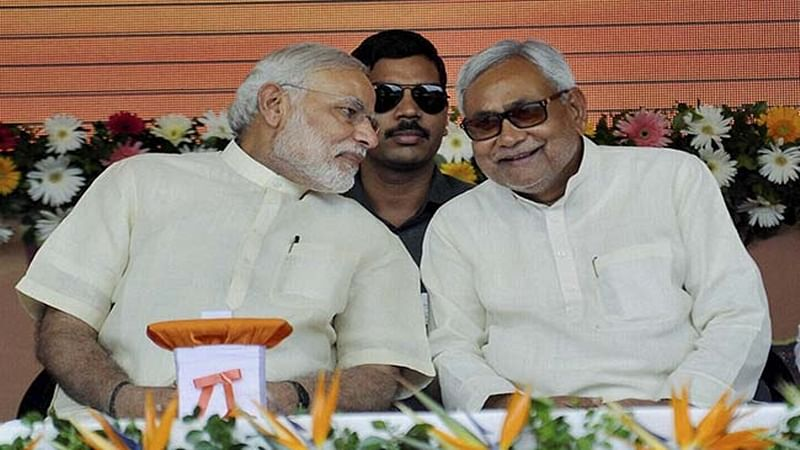 PM Narendra Modi praises Nitish Kumar for his 'nasha-mukti abhiyan'