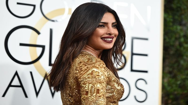 """""""It's a good time for me"""": Priyanka at Golden Globes"""
