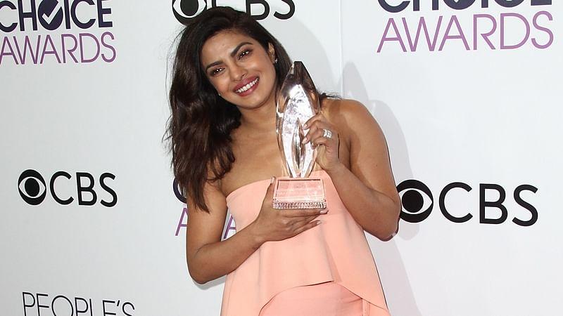 Priyanka Chopra credits 'Quantico' crew for her People's Choice Award