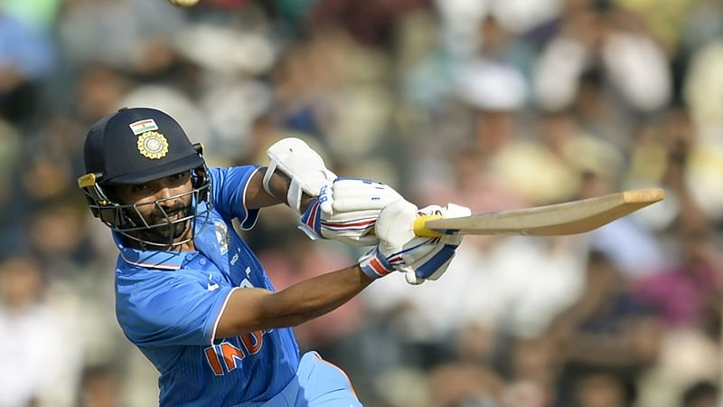 Ajinkya Rahane: It was a tough choice between Rahane and Lokesh Rahul for the extra batsman spot. For us, Rahul is the more talented and flamboyant, but out vote goes to Rahane for his consistency and technique. Rahane was unlucky to be dropped from ODIs in the first place, and it affected his Test form as well. He deserves to earn his spot back in the team. AFP PHOTO / Punit PARANJPE