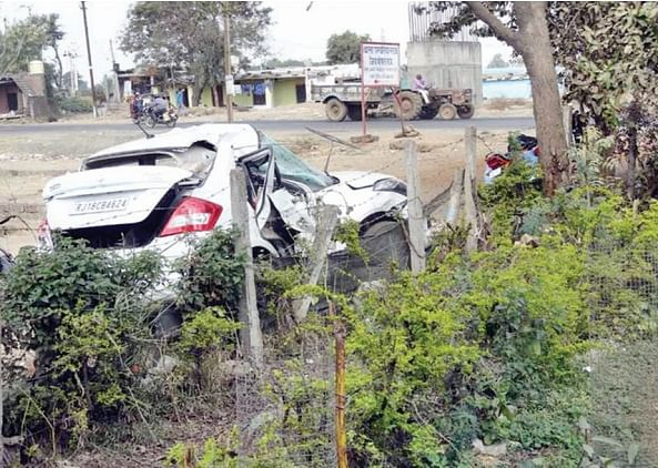 Bhopal: BSF head constable son and killed in road accident