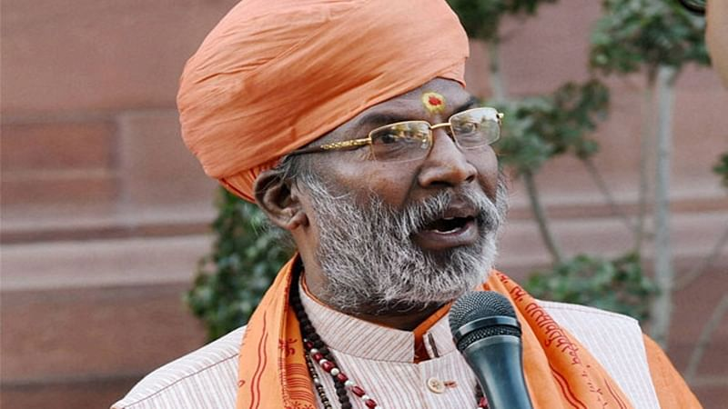 'Vote for me or face divine displeasure,' says BJP MP Sakshi Maharaj, police book him