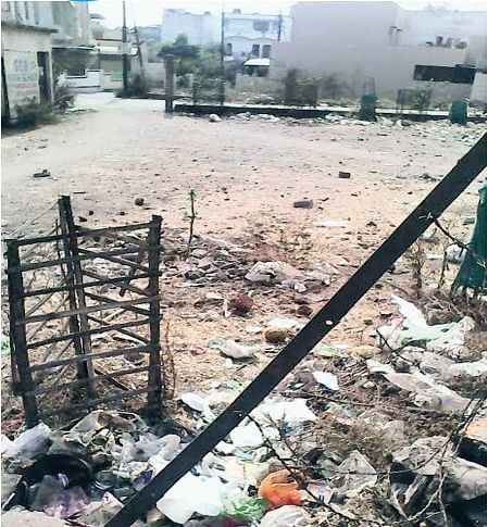Bhopal: Residents themselves turn park into garbage dumping ground