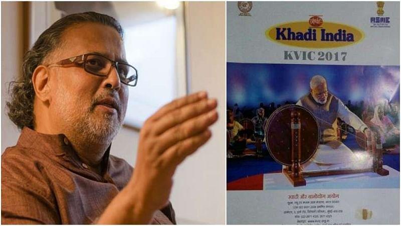 Khadi calendar row: Gandhi's great-grandson Tushar Gandhi attacks PM Narendra Modi