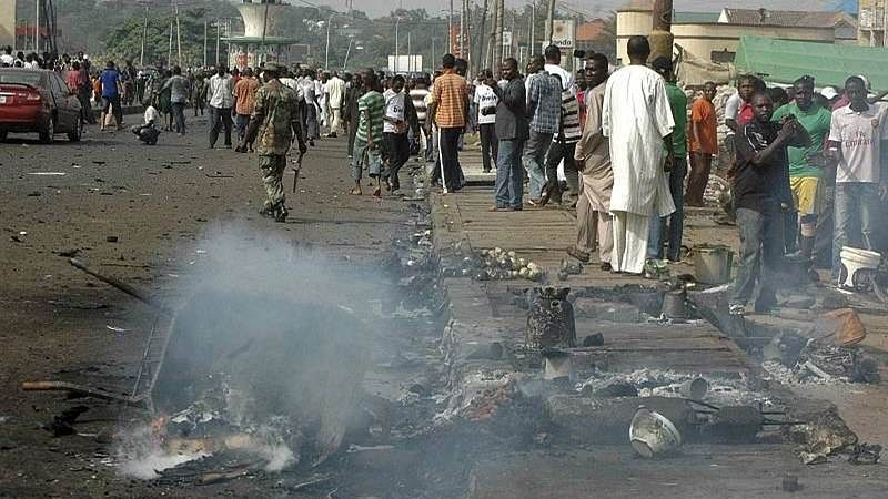 10 year-old 'Girl bomber' dies, mosque targeted in North East Nigeria