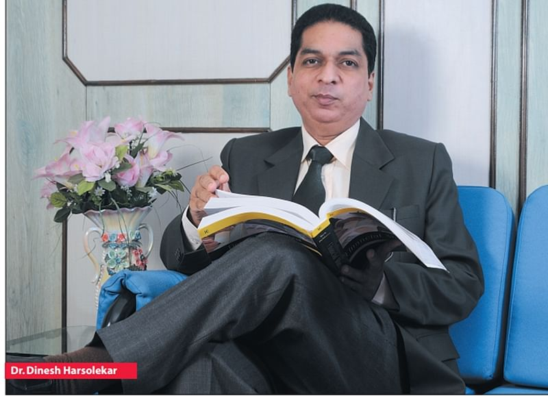"""""""Ambition among students is good…"""", says Dr. Dinesh D. Harsolekar"""