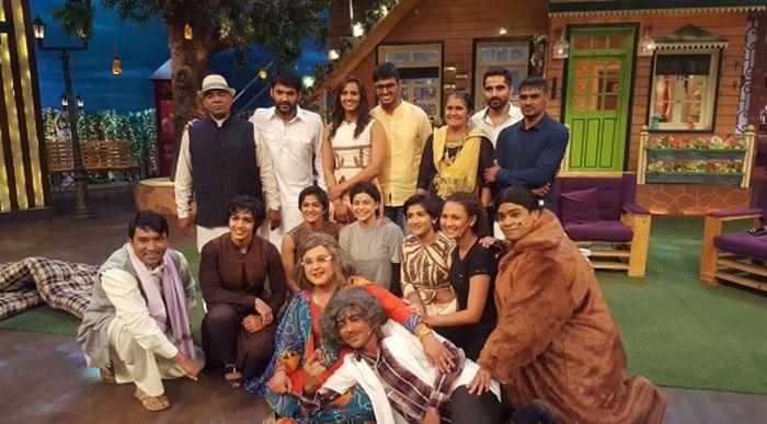Watch Dangal with Geeta Phogat and Babita Phogat on The Kapil Sharma Show