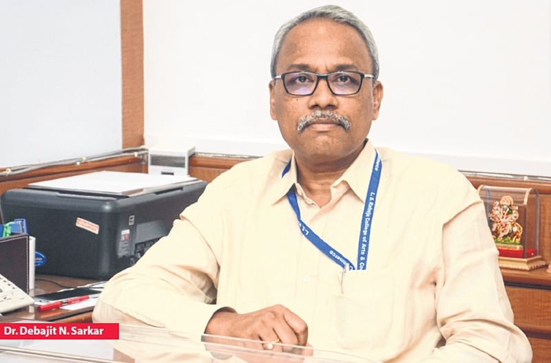 """It is my responsibility to look after my students"", says Dr. Debajit N. Sarkar"