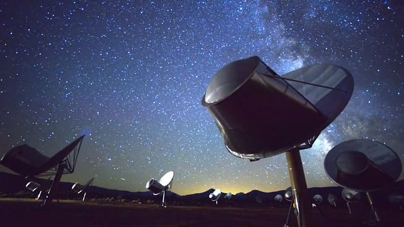 Mysterious alien signals came from distant dwarf galaxy, says study