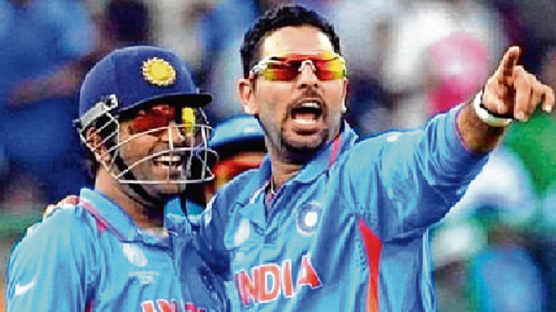 One might get to see fearless Dhoni and Yuvi of old: Yuvraj