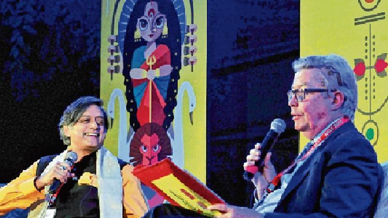 Bid to replace Gandhi is marketing ploy: Tharoor