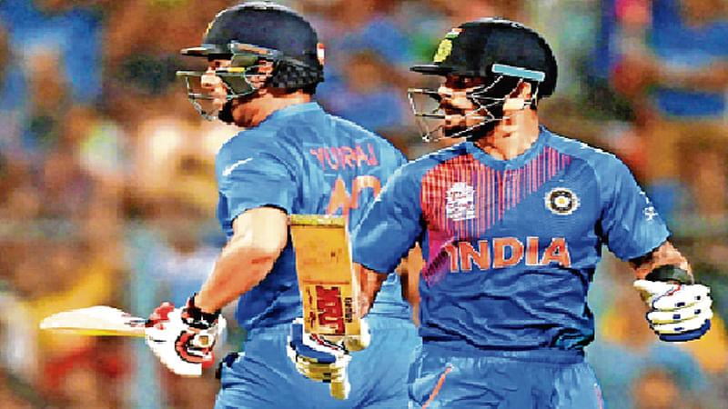 Dhoni in leadership role as Kohli skips optional practice