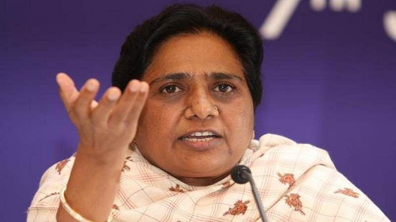 Dalit-speak of PM, BJP a sham, says Mayawati