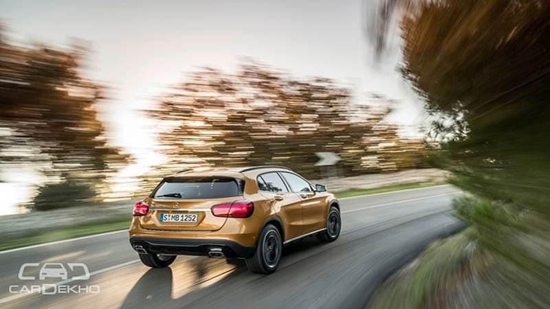 2017 Mercedes-Benz GLA unveiled